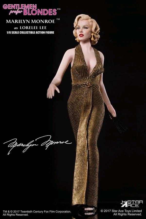 Marilyn Monroe - Gold Dress 12\